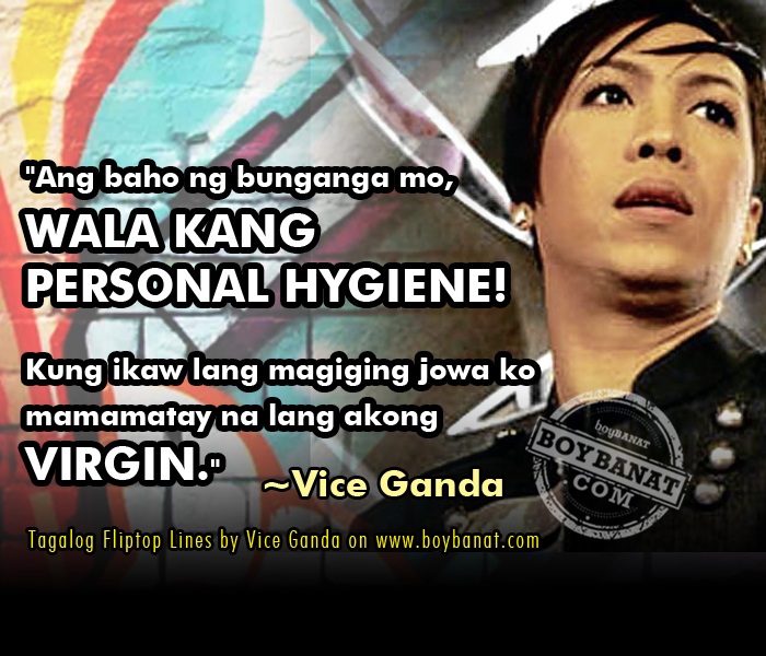 Vice Ganda Tagalog FlipTop Lines ~ Boy Banat