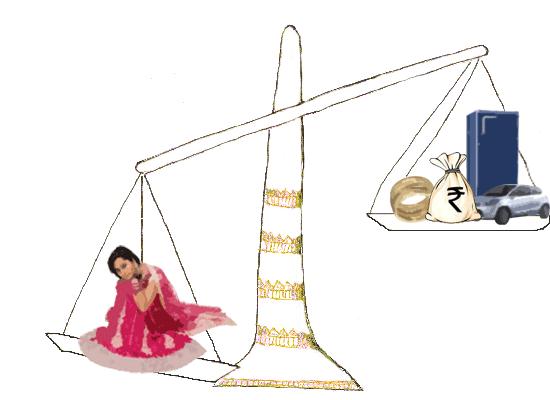 दहेज नहीं देने पर  पति ने कर ली दूसरी शादी