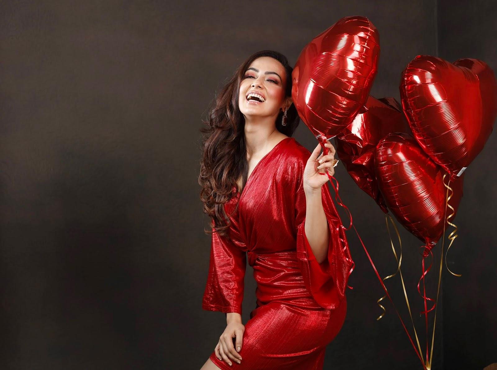 Actress Sana Khan Ace Choreographer Spotted In Ashima Sharma Outfits For A Calendar Shoot