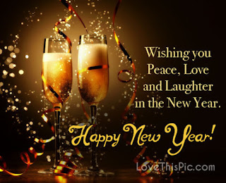 Whisky Happy New Year Wishes