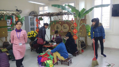 Hoa Sen - Cho thuê trang thiết bị làm chợ quê, hội làng