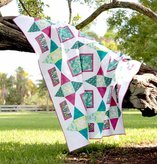Safari Stars Quilt Free Pattern