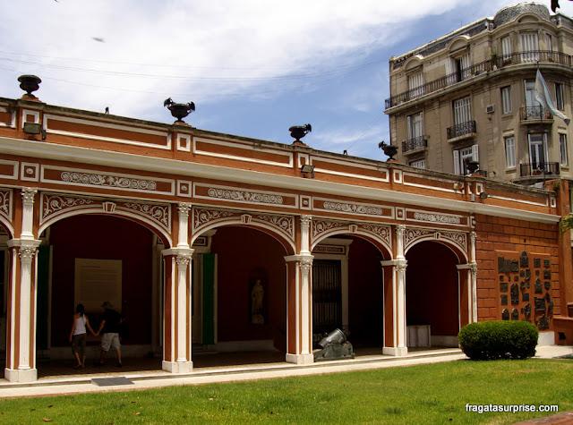 Museu Histórico Nacional da Argentina, no Parque Lezama, Buenos Aires