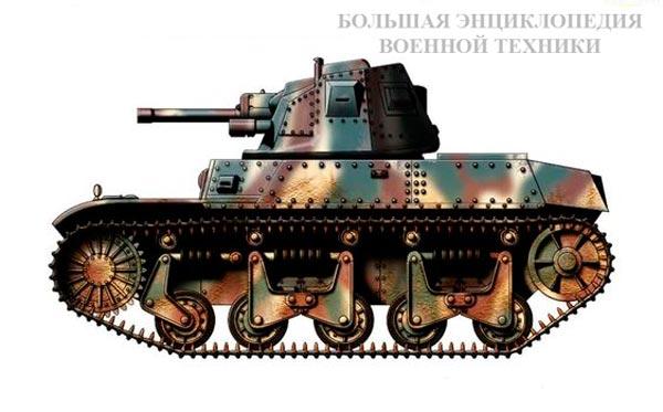 Легкий танк Auto-mitrailleuse de combat AMC 35