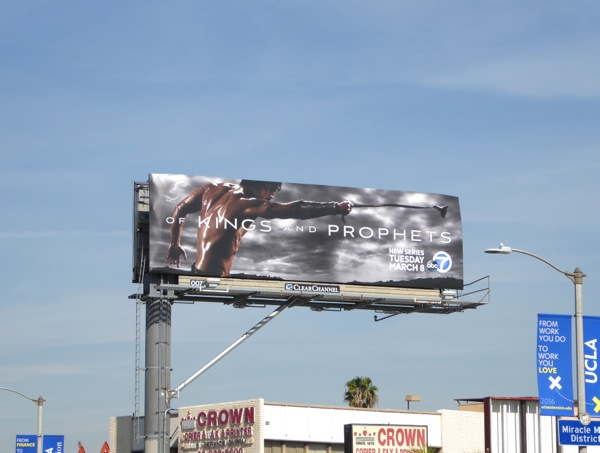 Of Kings and Prophets series billboard