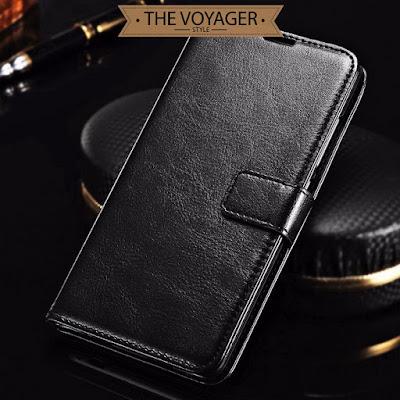 dompet casing kulit Leather flip case cover Xiaomi Redmi Note 3 Pro asli vintage original premium remax nilkin uag spigen