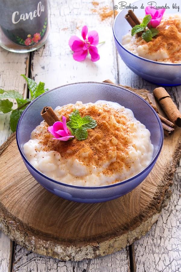 La alternativa a la receta de arroz con leche de mamá
