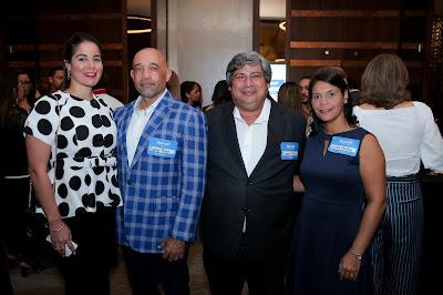 Marella Vitiello, Rafael Perez, Ronaldo Peralta y Laura Peralta