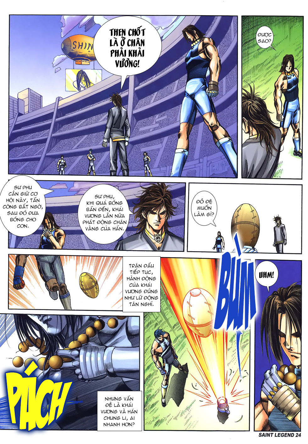 Bát Tiên Đạo chap 58 - Trang 23