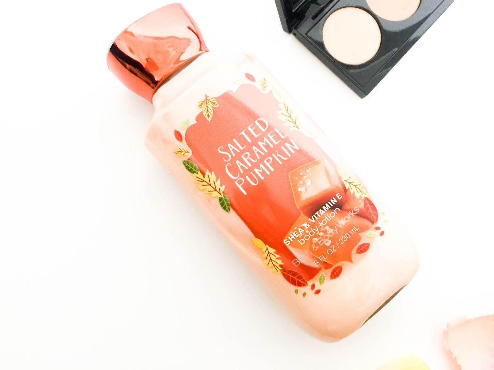 Bath & Body Works Salted Caramel Pumpkin Body Lotion