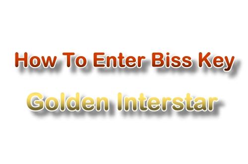 How to enter Biss key in Golden Installer