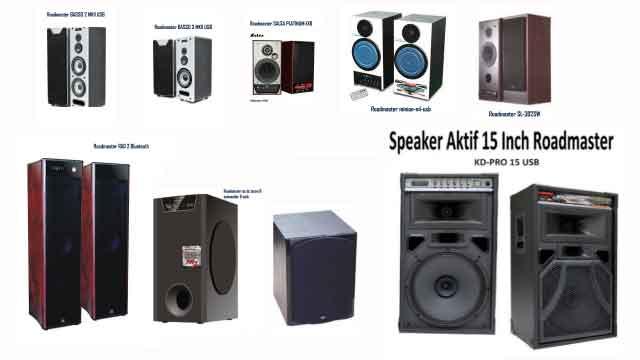 Harga Speaker Aktif Super Bass Mantap