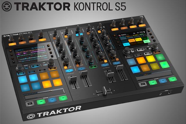 Tool DJ terbaru NI Traktor Kontrol S5, keren