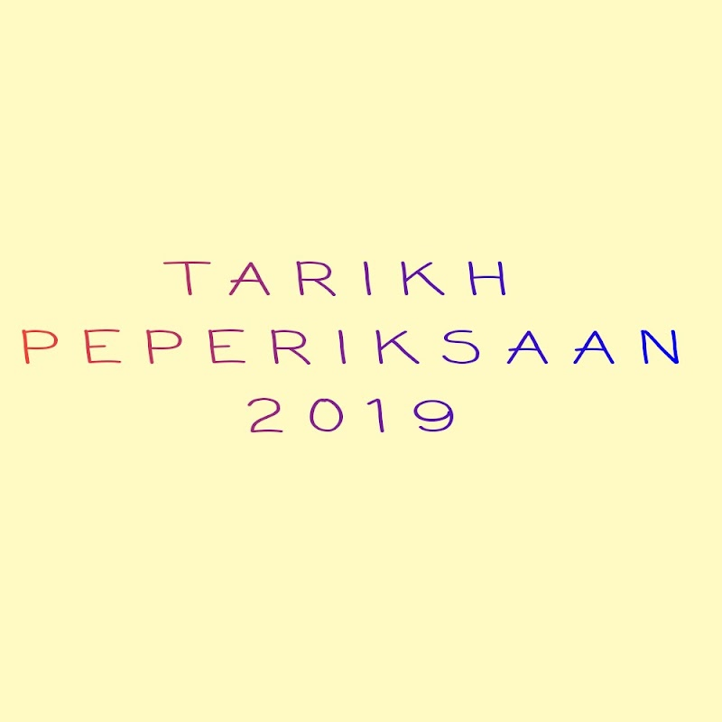 Tarikh Pelaksanaan UPSR 2019 Diawalkan