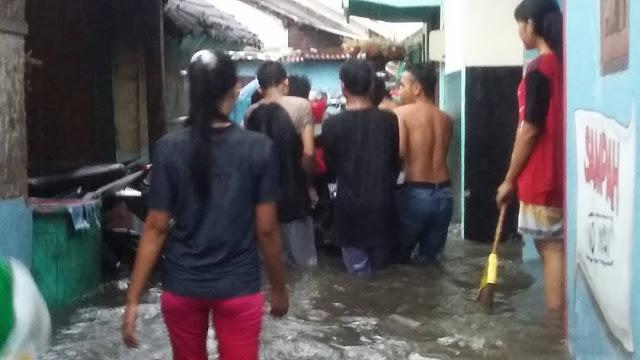 Desa di Lobar Dikepung Banjir