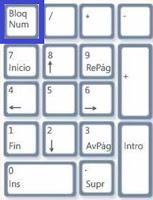 activar bloqueo numérico al iniciar windows 8