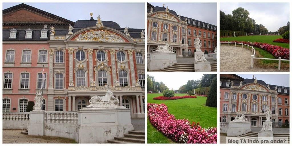 Kurfürstliches Palais - Electoral Palace em Trier, Alemanha