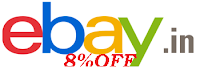 Ebay 8% off Coupon