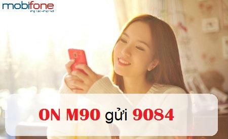 Cú pháp đăng ký gói M90 Mobifone