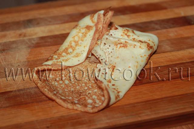 рецепт блинчиков с куриной печенью и рисом с пошаговыми фото