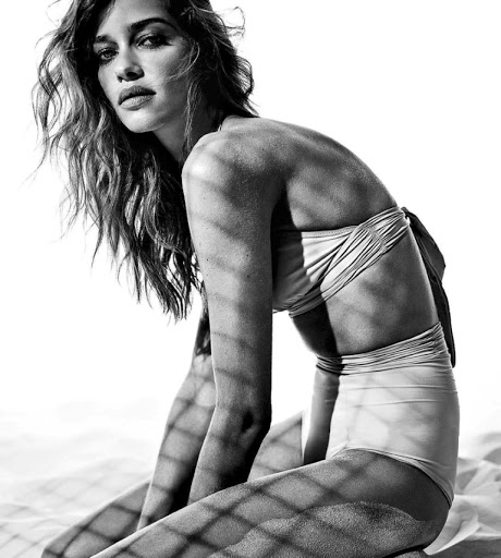 Ana Beatriz Barros sexy models photo shoot by Fabio Leidi for Glamour magazine Italia