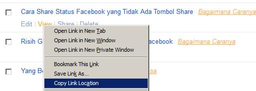 Cara Posting Link Blog Ke Fan Page Facebook Tukarcerita Com