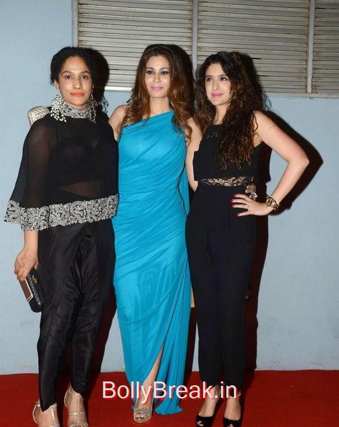 Masaba, Shaheen Abbas, Hot Pics Of Parizaad Kolah, Shaheen Abbas, Masaba Gupta At The Artisan Jewellery Design Awards 2014