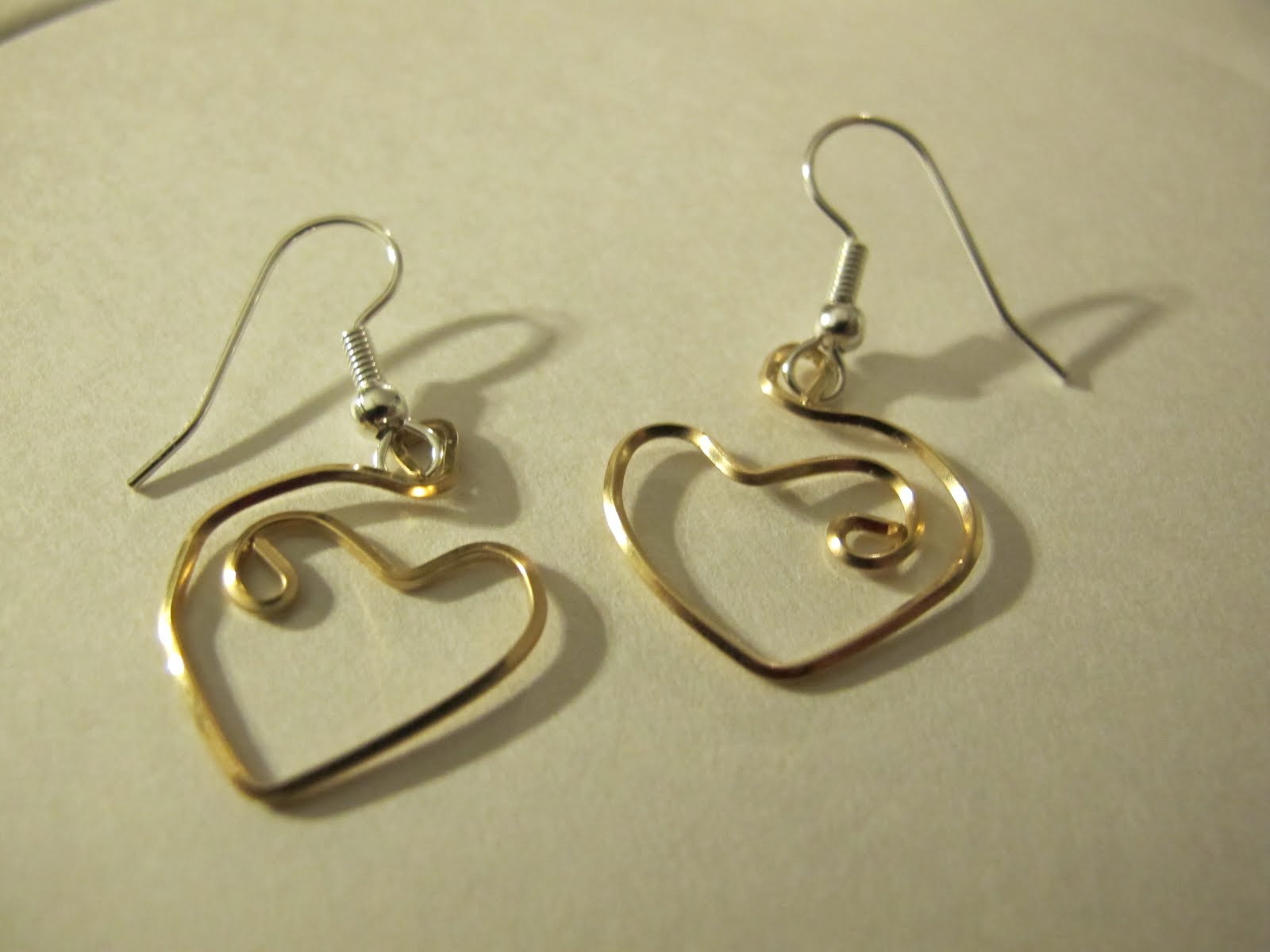 Naomi's Designs: Handmade Wire Jewelry: Gold wire wrapped ...