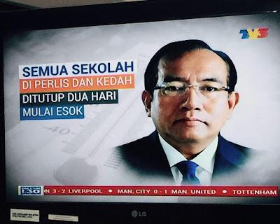 El Nino Sekolah Tutup Di Kedah dan Perlis
