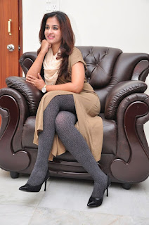 Actress Nanditha Raj Latest Stills at Savitri Movie Interview  0080