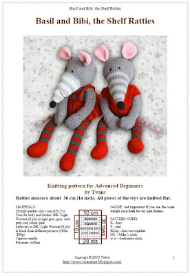 knitted rat