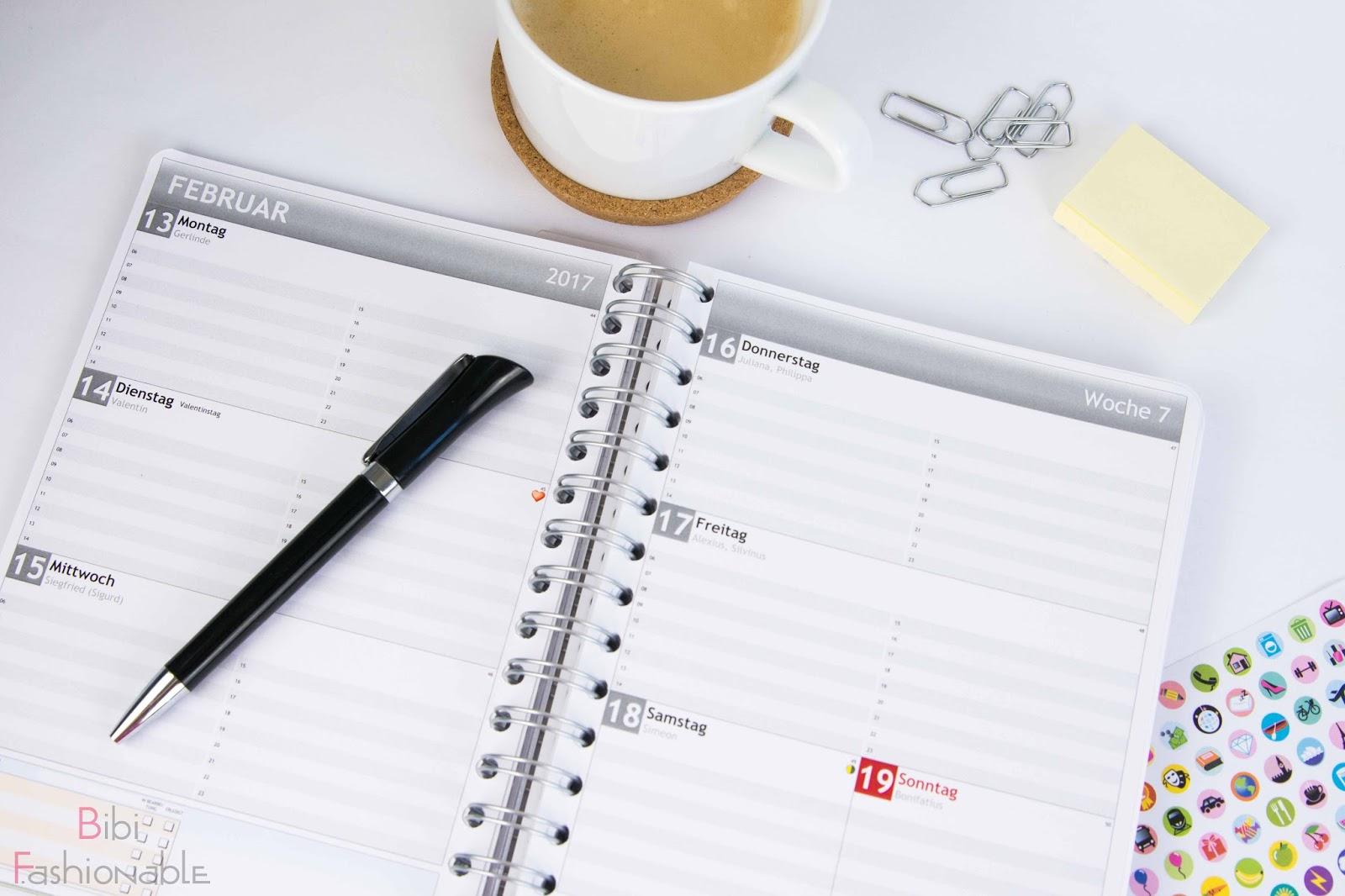 Personalplanner Wochenkalender