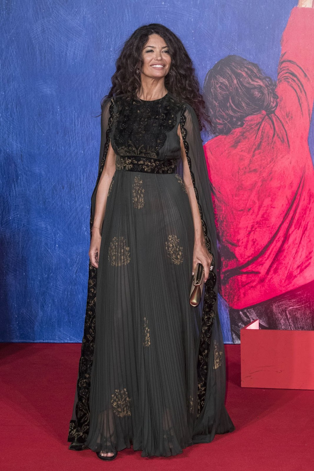 Afef Jnifen At Franca Chaos And Creation Premiere At 2016 Venice Film Festival
