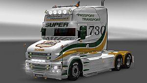 Passport Transport skin for Scania T