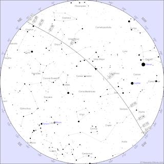 דוגמה למפת מעבר של תחנת החלל