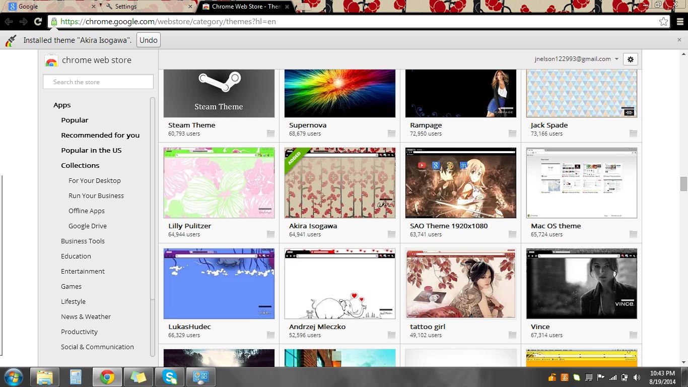 DIY: Google Chrome Theme - DAILYCUPOFJOJO