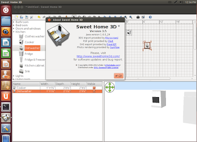 Sweet Home 3D no UBUNTU
