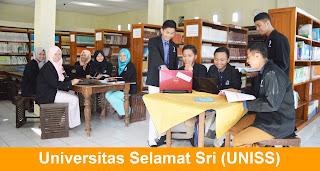 lowongan dosen tetap Universitas Selamat Sri