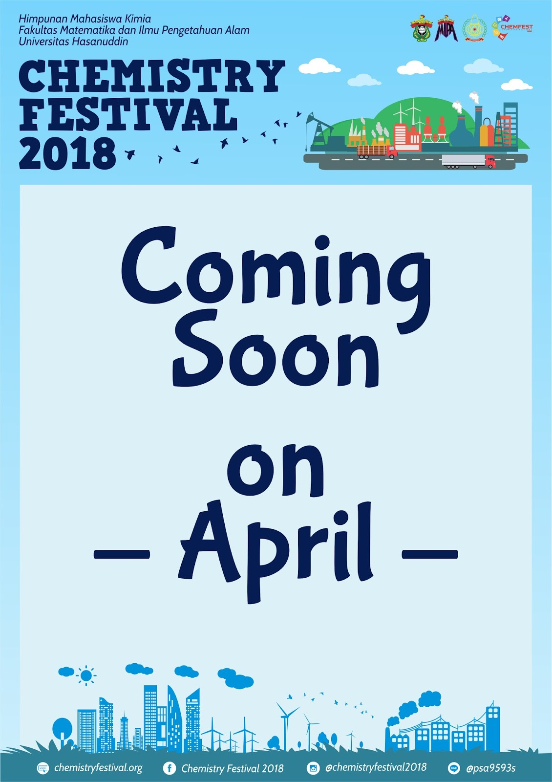 Coming Soon CHEMFEST 2018