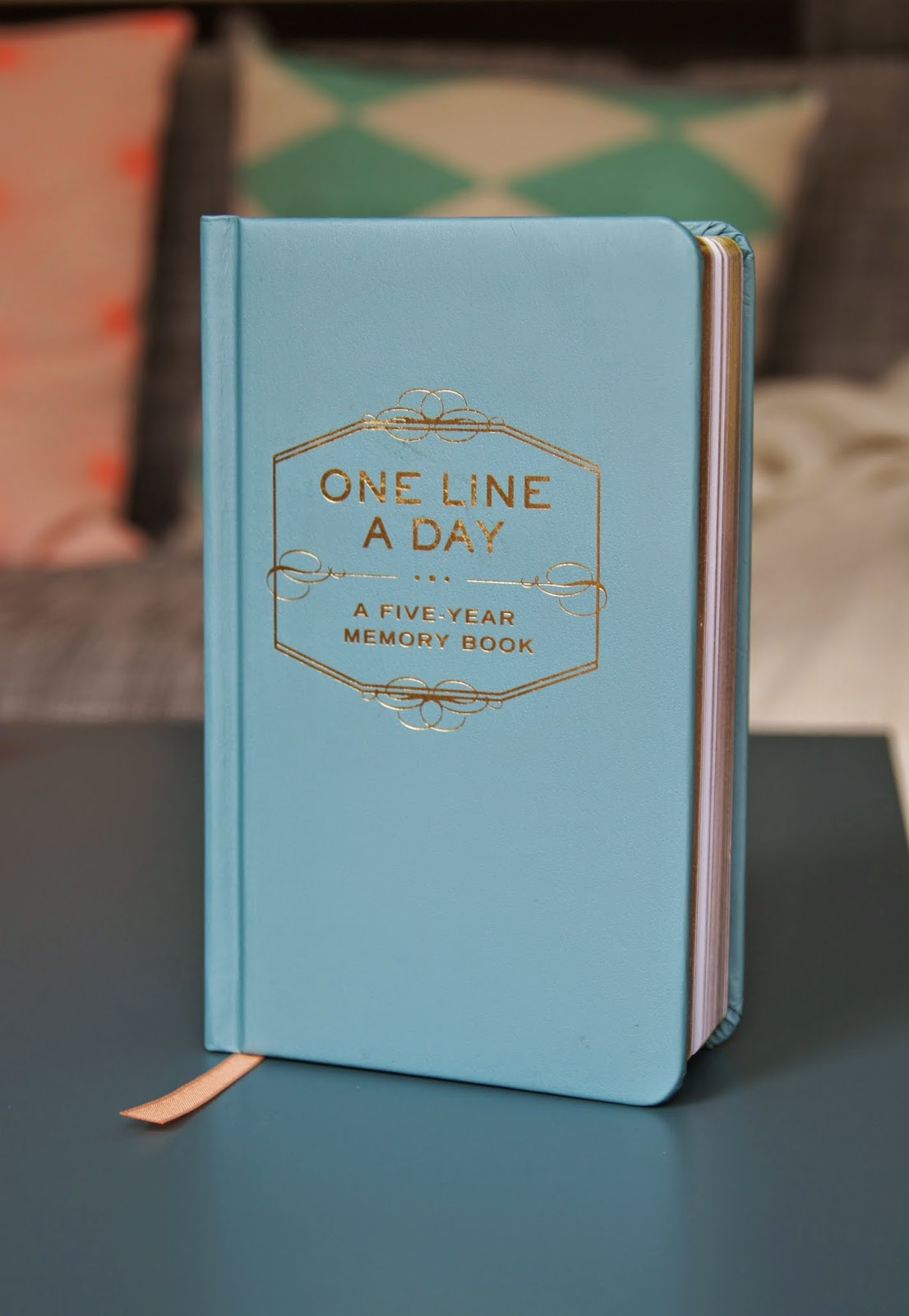 one line a day 5 year memory book review