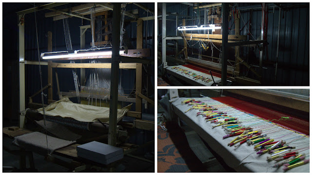 Paithani - Hand weaving