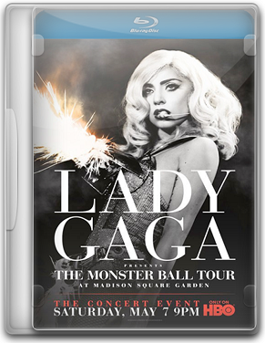 Capa Lady Gaga   The Monster Ball Tour   BluRay 720p