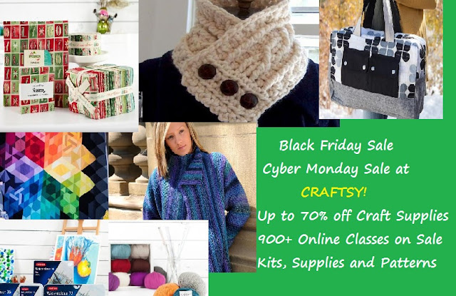 Craftsy Sale for the Holidays