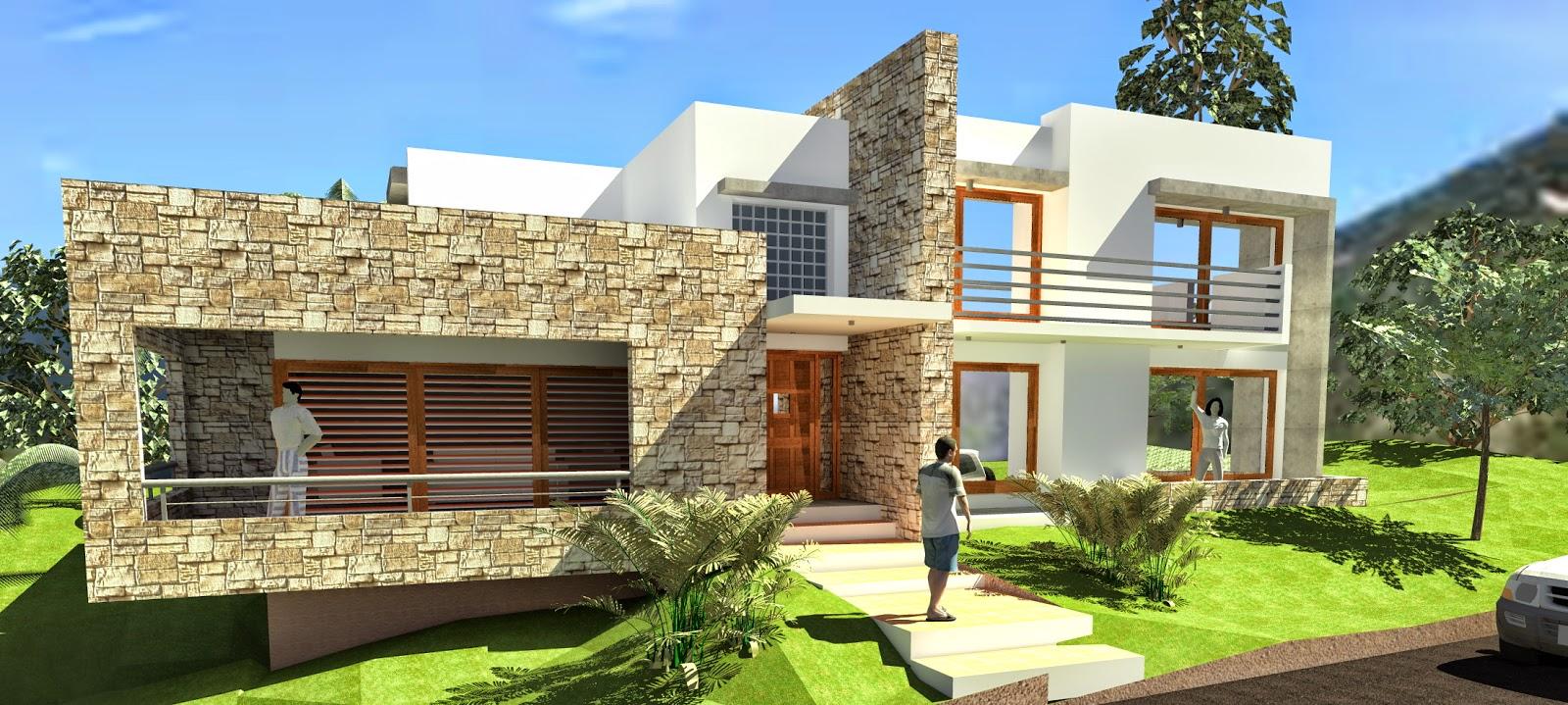 Arquitecto roque e paulino casa en barrio jardin - El jardin en casa ...