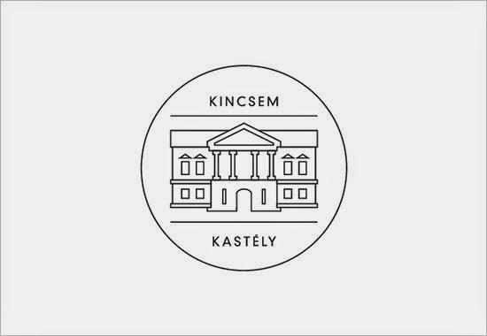 Bold & Thin line Logo Kincsem Hotel
