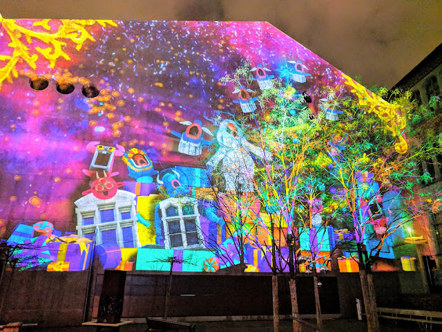 Things to do in Zurich in winter: see the light show at the Illuminarium