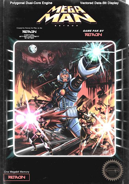 Mega Man Box Art Videodyssey