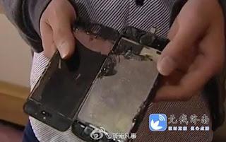 iPhone 5S cháy