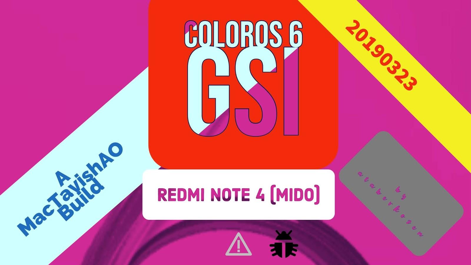 ColorOS 6 Android Pie GSI | Redmi Note 4 (Mido) [Video]