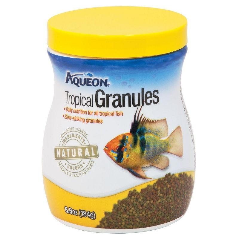 Image Can Bettas Eat Tropical Fish Food - Aqueon Tropical Granules Tropical Fish Food, 6.5 oz